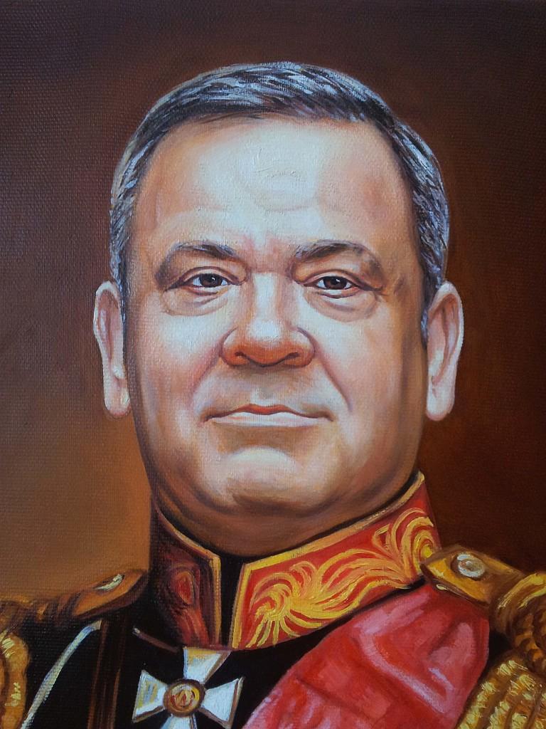 Портрет маслом на холсте в Сочи