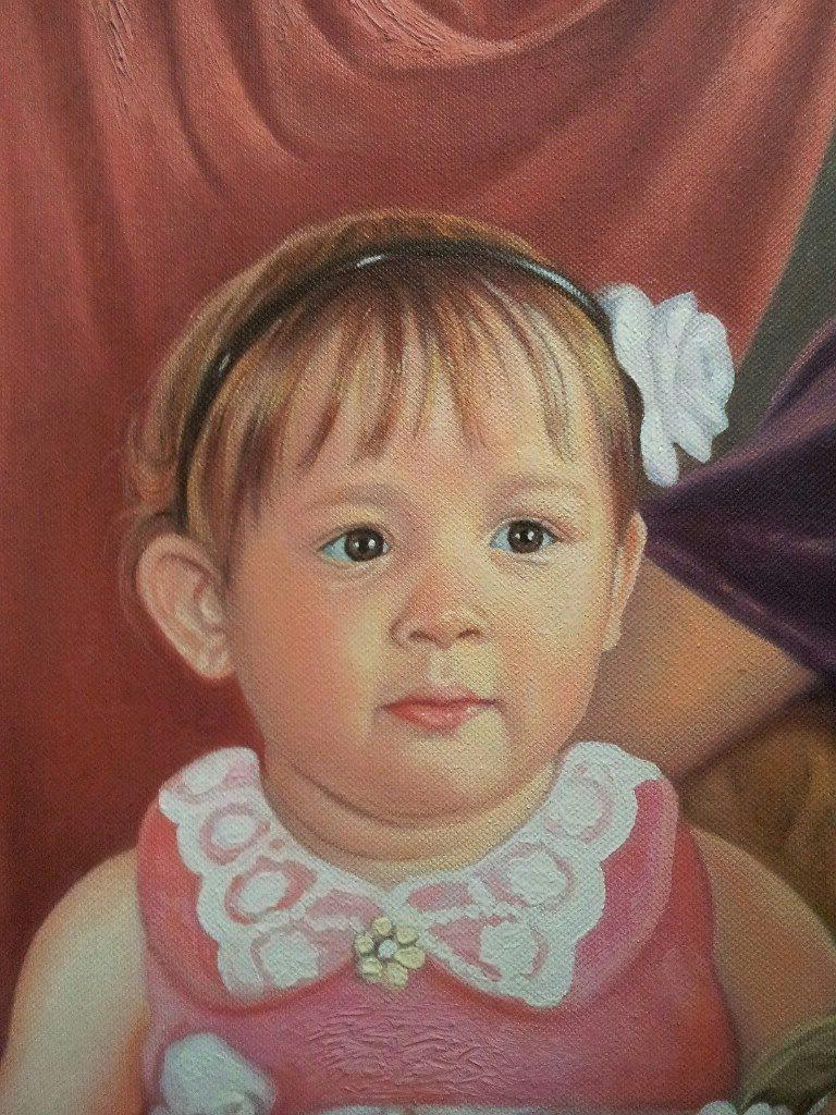 Портрет маслом семейный Сочи