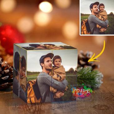 Фотокубик трансформер, купить в подарок Сочи